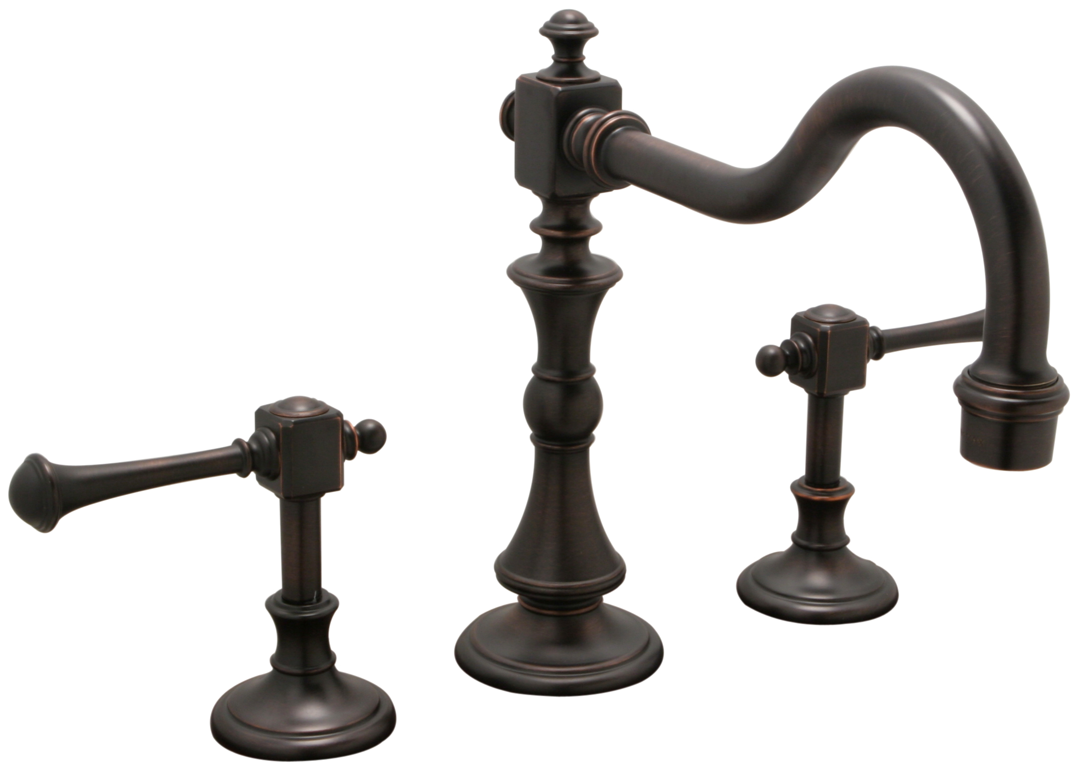 Mobk20nnl monarch two lever handle bridge style kitchen for Old style kitchen faucets