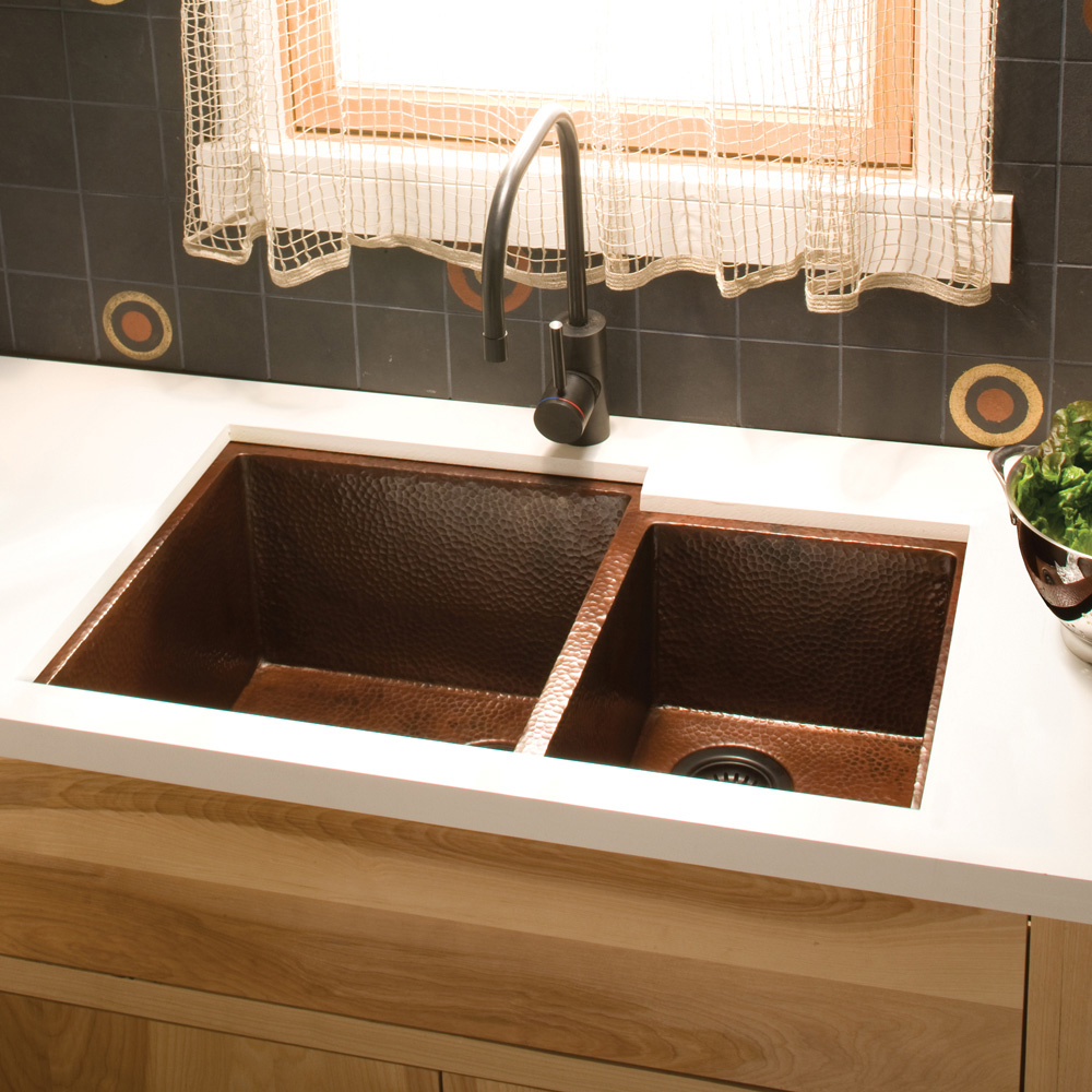 ... about Native Trails CPS275 Cocina Duet Copper Kitchen Sink Antique