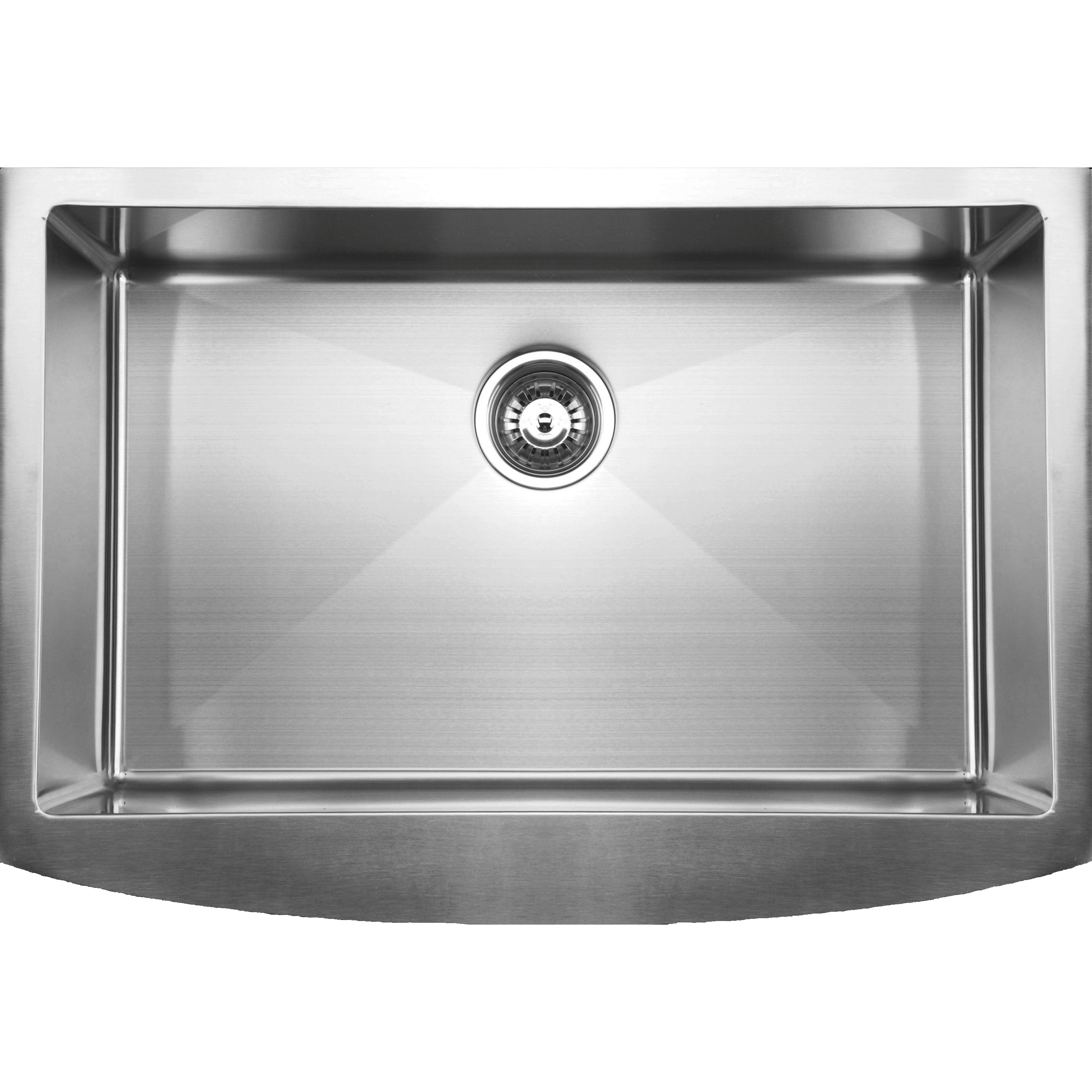 ... RSFC849 Apron Front Single Bowl Stainless Steel Kitchen Sink eBay