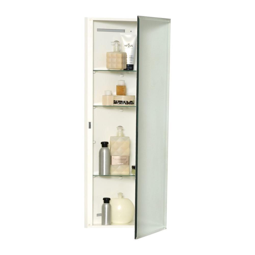 Zenith Corner Over 14 Quot Surface Mount Medicine Cabinet